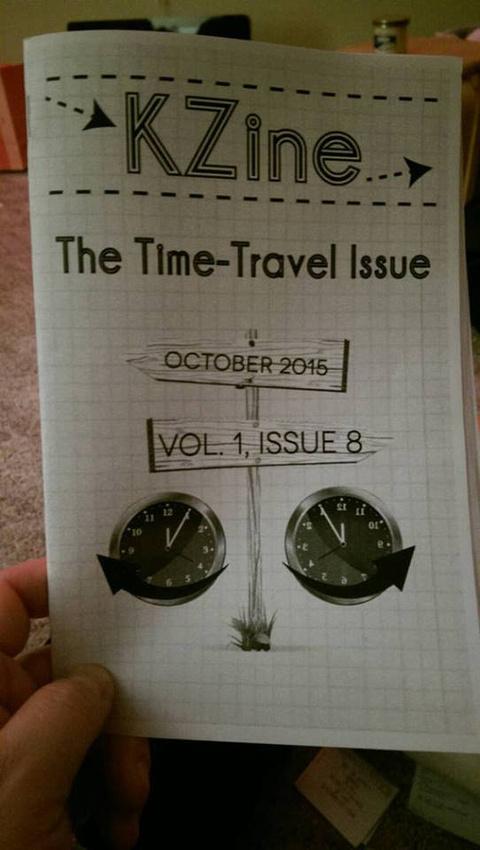 KZine Issue #6, The Rain Issue